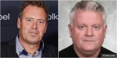 Selångers tränarduo 2020 - Kent Gustafsson och Stefan Wickström.