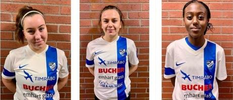 IFK Timrå har gjort klart med en trio nya spelare varav två är återvändare, Felicia Högkvist och Isabelle Forslund. 14-åriga jättelöftet Carine Rugumaho kommer från Fränsta IK.