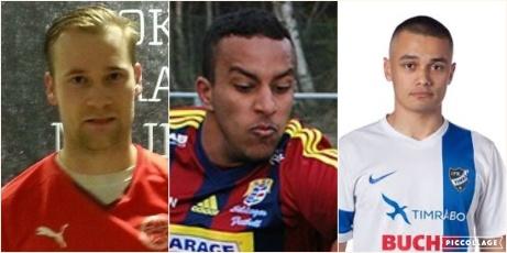 David Näslund, Faress Mohammed och Cevin Dotson har nyligen gjort klart med Svartviks IF.