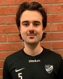 Filip Tägtström har meriter från spel i GIF Sundsvall plus flera pojklandslag.