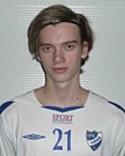 Kevin Sundström har kritat på för IFK Sundsvall.