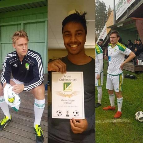 Luckstas leveranser till den svenska läkarkåren, Axel Andreasson, Martin Drugge Eriksson och Felix Drewsen.