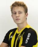 Pontus Lundqvist gjorde ett av målen och var en av Kubens bästa i 4-2-segern över Alnö.