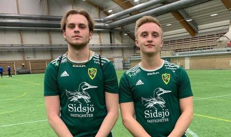 Med varsitt sent mål genom Harald Carlsvärd och Karl-William Svedin vände Sidsjö-Böle ett 0-1-umderläget mot Söråker till seger. Foto: Sidsjö-Böle IF.