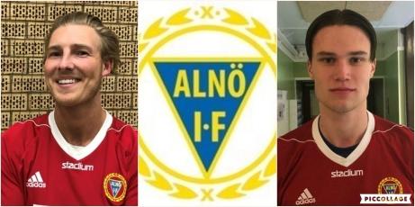 Jonathan Åhlin och Jesper Andersson är spelare fyra och fem att återvända till moderklubben Alnö IF..