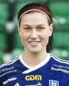 Jenny Nordenberg gjorde första målet och spelade fram till Kovlands övriga två.