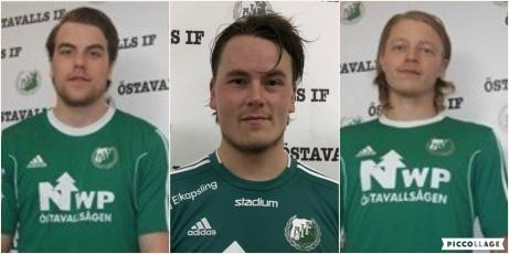 """2018 i Östavall, 2019 i Stöde IF och 2020 är det Söråker som får ta del av """"de tre musketörerna"""" Niclas Möllhagens-, Mattias Norins- och Robin Cardegrens tjänster.."""