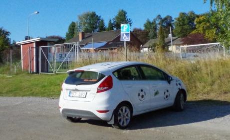 """Lokalfotbollens """"Fårrd"""" gästade Svartviks IP en solig sommardag 2019. Foto: Pia Skogman, Lokalfotbollen.nu."""