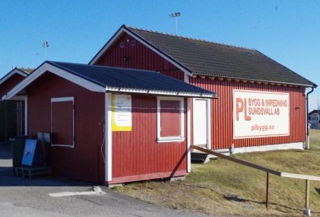 """""""Bandykiosken"""". Foto: Pia Skogman, Lokalfotbollen.nu."""