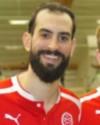 Ahmad Khreis, spelande tränare i Svartvik 2020.
