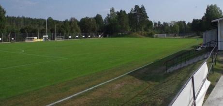 Som sagt. Utsikten god från fikaborden. Foto: Pia Skogman, Lokalfotbollen.nu.