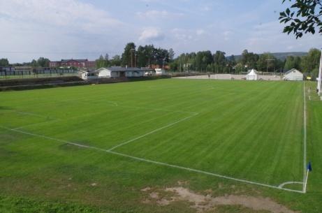 Fantastisk utsikt från kullen med matchuret. Foto: Pia Skogman, Lokalfotbollen.nu.