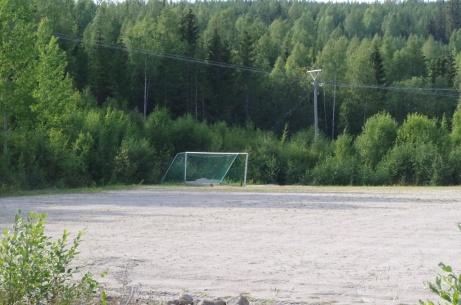 Ett ensamt mål... Foto: Pia Skogman, Lokalfotbollen.nu.