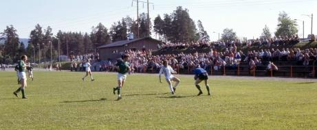 När Brukets Blå spelade hemma på Thulevallen förr om åren var det ofta folkfest. Får se om det blir så även i år 2020 när klubbens herrar är tillbaka i division 3?