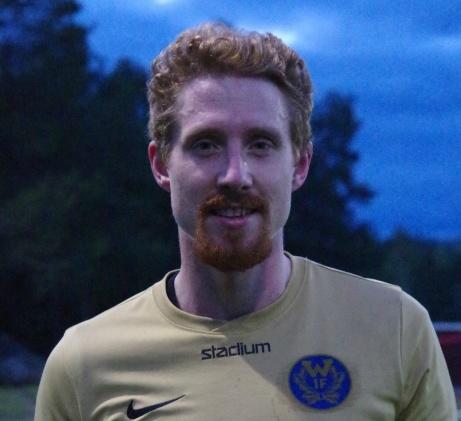 Christian Wilhson svarade för en stark insats, inte minst i luftrummet. Foto: Pia Skogman, Lokalfotbollen.nu.