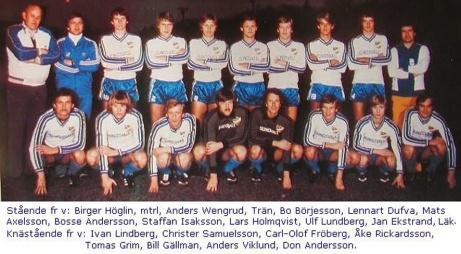 """IFK Sundsvall har gjort fem allsvenska säsonger. Här är laget från 1978. som dessvärre åkte ur trots en bortaseger mot Malmö FF. Skåningarna valde sedan att lägga sig mot AIK för att slippa åka upp till """"Lapphelvetet"""" den kommande säsongen..."""