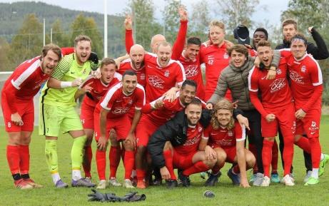 Stöde IF är vårt senaste lag att ta hem division 3 Mellersta Norrland då man vann den ifjol och kvalificerade sig för spel i tvåan 2020. Foto: Linnea Zätterquist.
