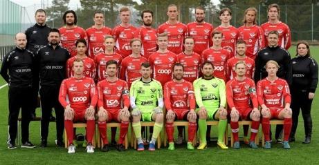 Rödklädda Anundsjö IF kickade hem den mellersta Norrlandstrean 2018.