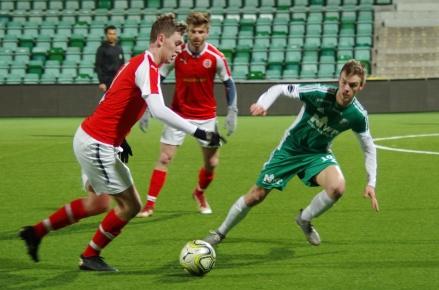 Det blir bara ett derby i år mellan Svartvik och Östavall.  Foto: Pia Skogman, Lokalfotbollen.nu.