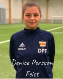 Denice Persson Feist tar även hon steget från Selånger till Kovland.