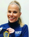 Emmie Björklund satte 2-0-målet.