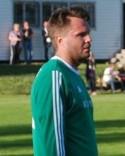 Marcus Sjöström under sin tid som aktiv i Essvik.