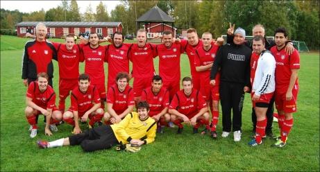 Granlo BK - seriesegrare i Medelpadsfemman 2013 och kvalificerade sig för första gången i historien för spel i Medelpadsallsvenskan.