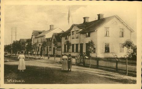 Och avslutningsvis. Ett vykort från gamla tiders Viskan. Foto: Pia Skogman, Lokalfotbollen.nu.
