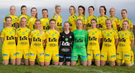 Ljusdals IF IF, seriesegrare div 2 Södra Norrland, damer 2015. Foto: Ljusdals IF:s hemsida.