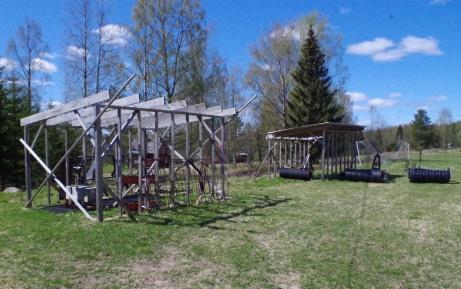 ...därför bygger vi två. Foto: Pia Skogman, Lokalfotbollen.nu.