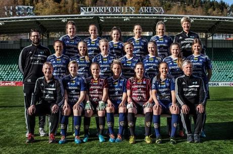 Medelpad har inte haft några större framgångar i division 1 Norrland genom åren. Bäst är en andraplats 2014 genom Sundsvalls DFF. SDFF har i gengäld tagit hem Norra Svealandsserien ett par gånger.