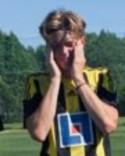 Alexander Nordin prickade in ett hattrick igen för sitt Kuben 2.