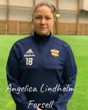 """Angelica Lindholm-Forsell, eller """"Angen"""" kort och gott är ett prima nytillskott i år."""