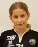 Hanna Rönngren gjorde två mål på sina ganla lagkompisar.