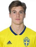 16-åringen Johan Bengtsson spelade hela den andra halvleken.
