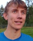 Hugo Strandberg inledde kvällens målskytte.