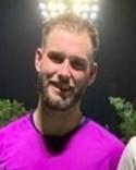 Ola Hagberg nickade tidigt in 1-0 för Norr United.