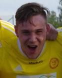 Alnös matchhjälte Oliver Lindgren.