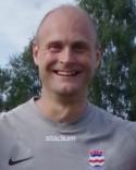 Stödes målvaktsbjässe Christofer Högbom var på bästa bollmotarhumör och höll nollan mot Skellefteå.