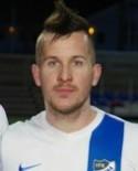 Robin Bergman gjorde hattrick under den första halvleken borta mot Anundsjö.