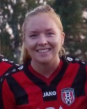 Jenny Olofsson gjorde ett av Söråkers märkliga mål mot Njurunda.