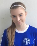 Thelma Bergkvist gjorde det ena av Timrås två mål. mål.