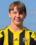 Arvid Larsson straffade SFF. Satte segernålet från elvameterspunkten.