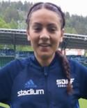 Sara Khamis tackade för förtroendet när hon fick chansen efter pausvilan och gjorde två mål.
