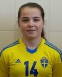 Maya Hulinder gjorde två mål och lillasystern Mira ett när Alnö vann med 3-0. mot Östeersund 2