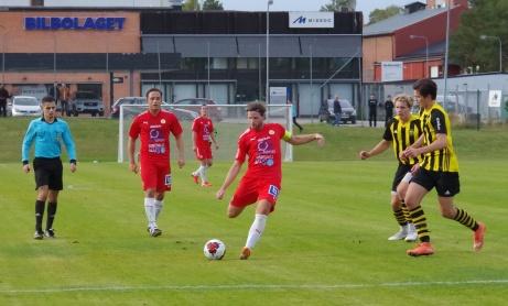 Två noll målet. Foto: Pia Skogman, Lokalfotbollen.nu
