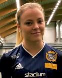 Olivia Strand kvitterade till 1-1 men Täby återtog omgående ledeningen och kunde till slut vinna med 3-2.