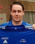 Johan Hallström skruvade in sin andra hörna direkt i mål för säsongen.