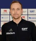 Mikael Melin-Bhy, tränare i SDFF.
