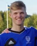 Förre Hasselspelaren Gustav Salomonsson gjorde fyra av Matfors 2:s nio mål i Ånge.